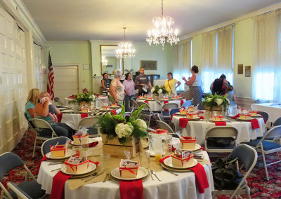 The Woman's Club of Bakersfield - Tea Room