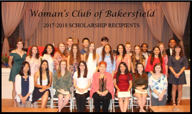 Woman's Club Bakersfield Scholarship Recipients