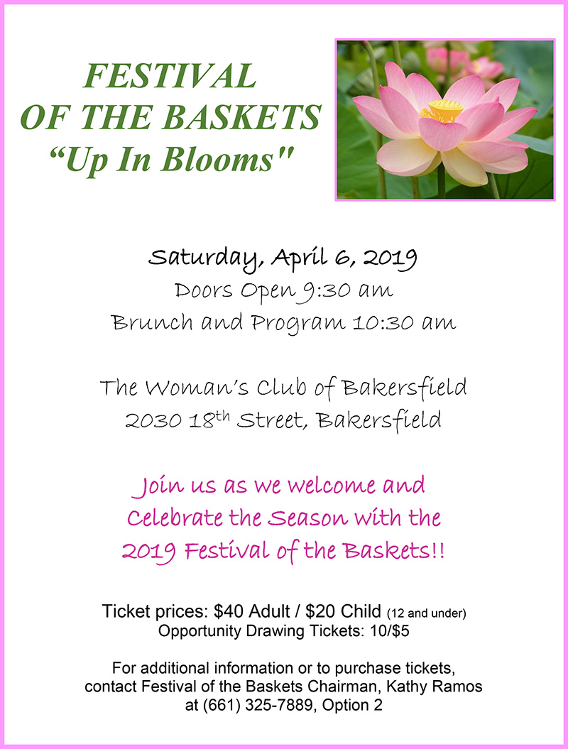 Womans Club - Festival of the Baskets